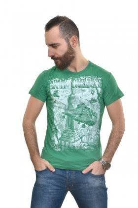 MTT Yeşil MTT-262 Erkek Tişört