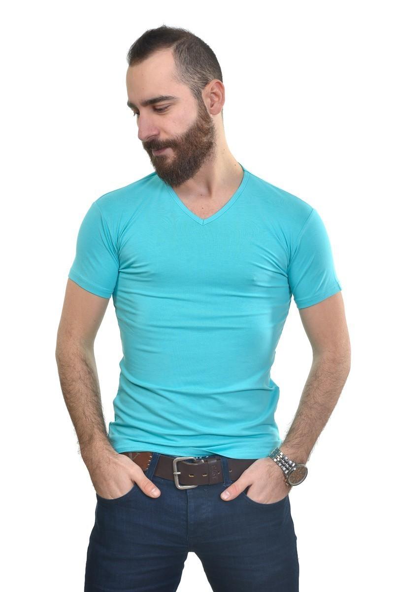 MTT Turkuaz MTT-257 Erkek Tişört