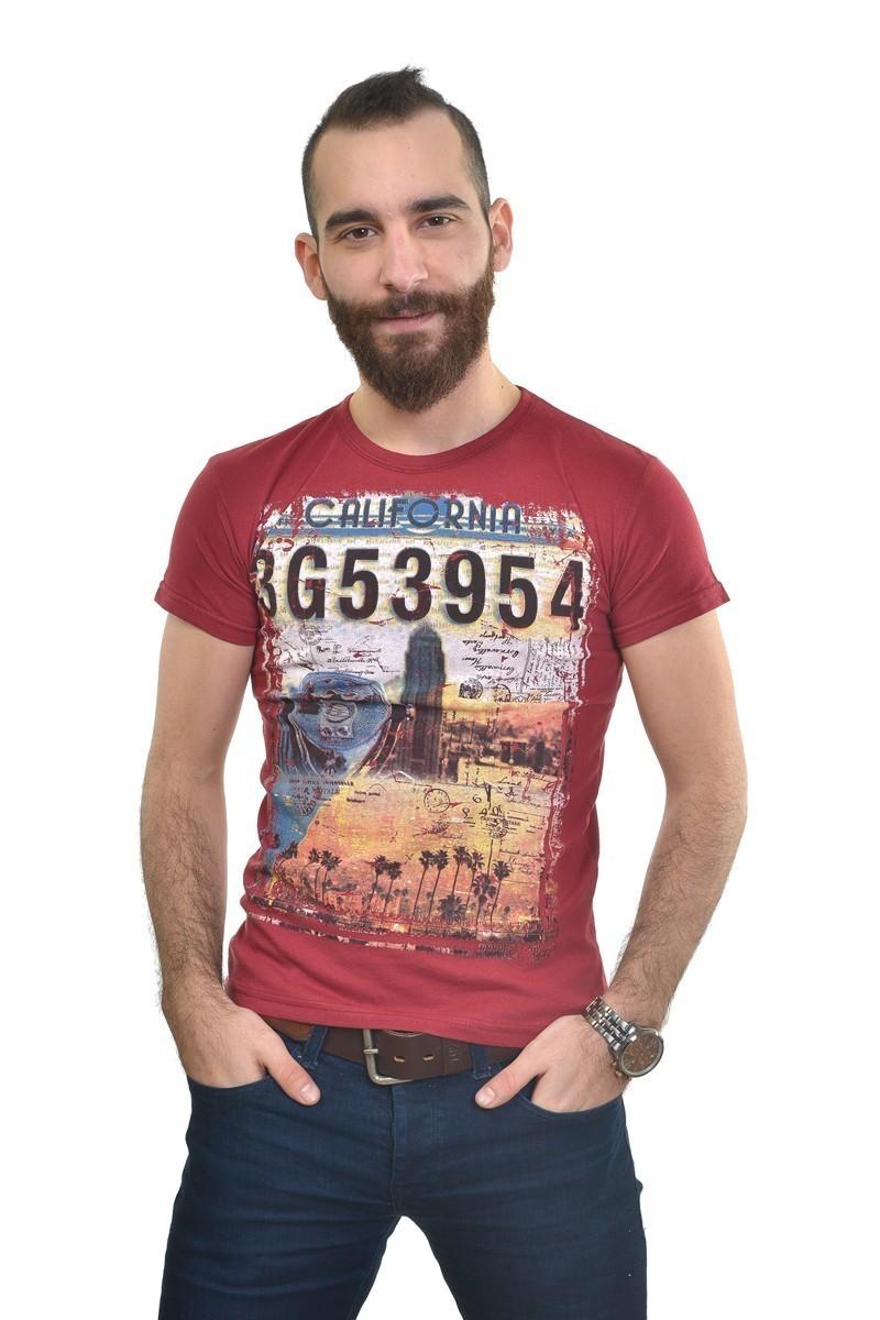 MTT Kırmızı MTT-253 Erkek Tişört