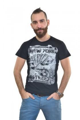 MTT Siyah MTT-252 Erkek Tişört
