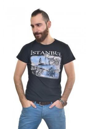 MTT Siyah MTT-250 Erkek Tişört