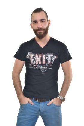 MTT Siyah MTT-246 Erkek Tişört