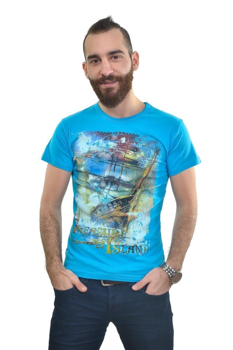 MTT Turkuaz MTT-243 Erkek Tişört
