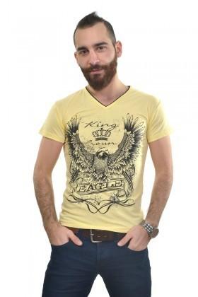 MTT Sarı MTT-241 Erkek Tişört