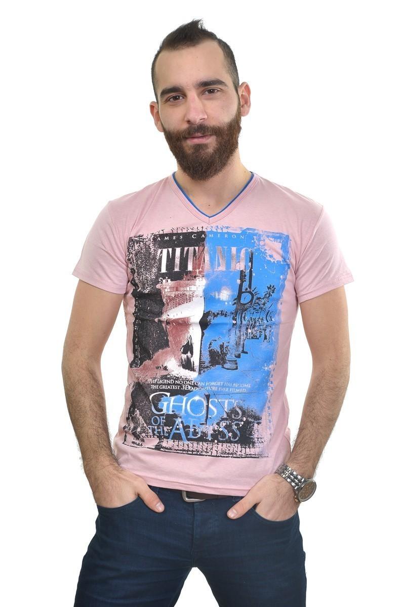 MTT Pembe MTT-240 Erkek Tişört