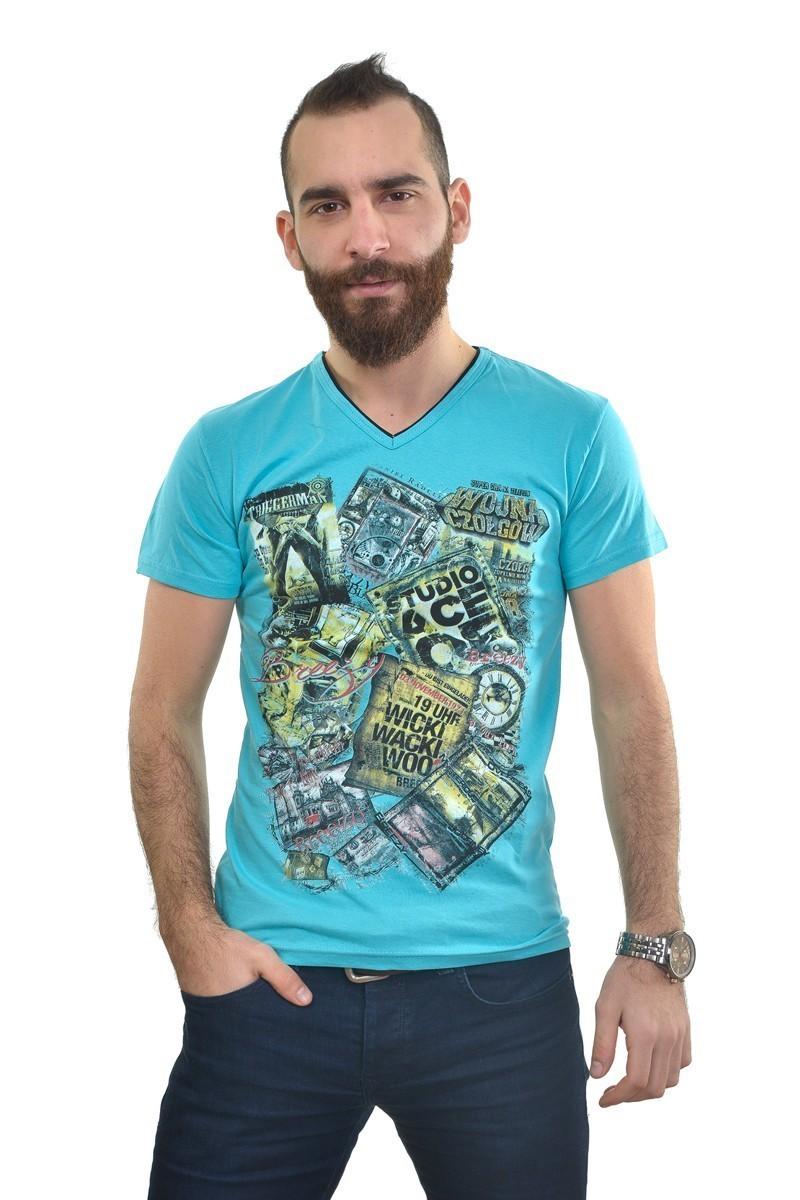 MTT Turkuaz MTT-238 Erkek Tişört
