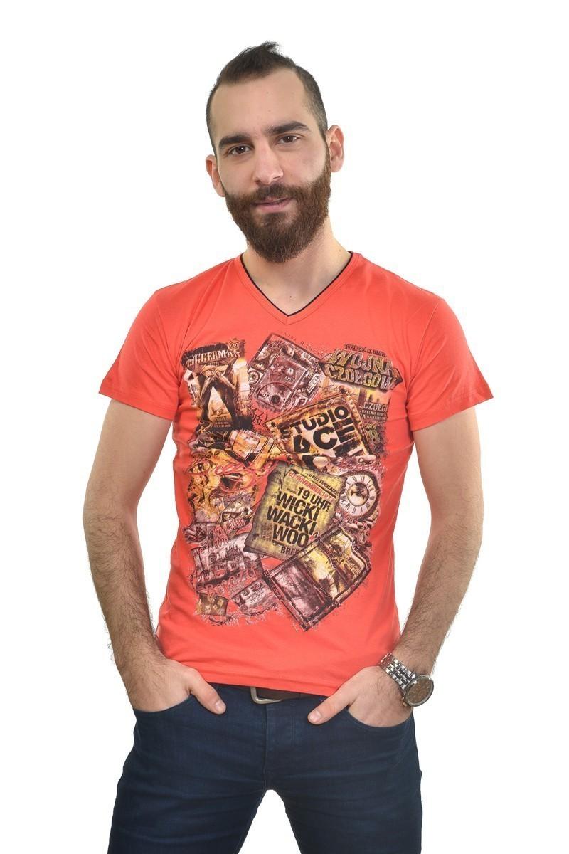 MTT Turuncu MTT-235 Erkek Tişört