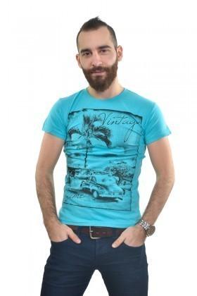 MTT Turkuaz MTT-233 Erkek Tişört