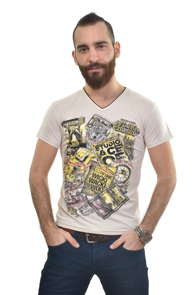 MTT Krem MTT-232 Erkek Tişört