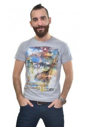 MTT Gri MTT-226 Erkek Tişört
