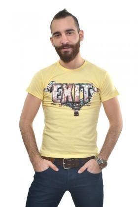MTT Sarı MTT-224 Erkek Tişört