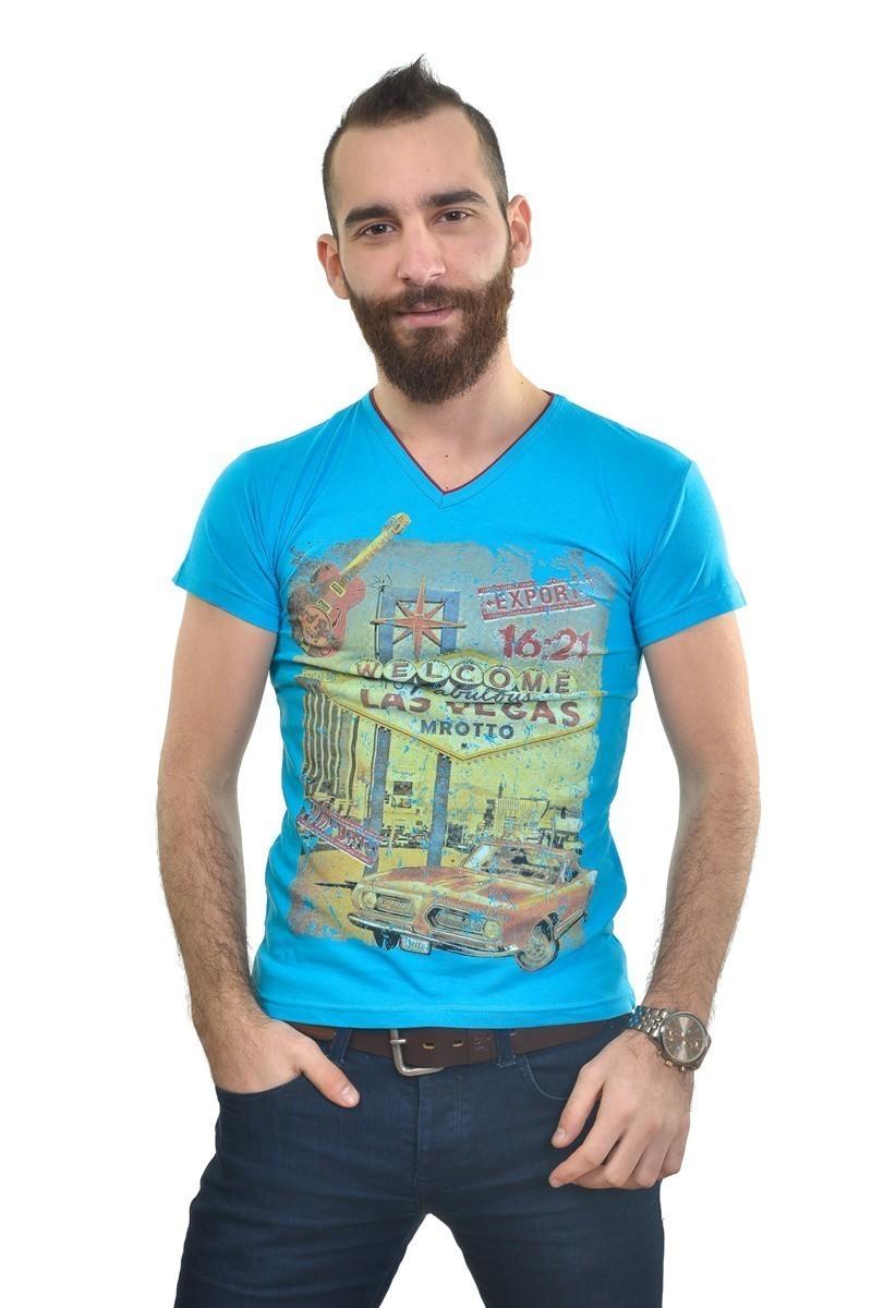 MTT Turkuaz MTT-221 Erkek Tişört