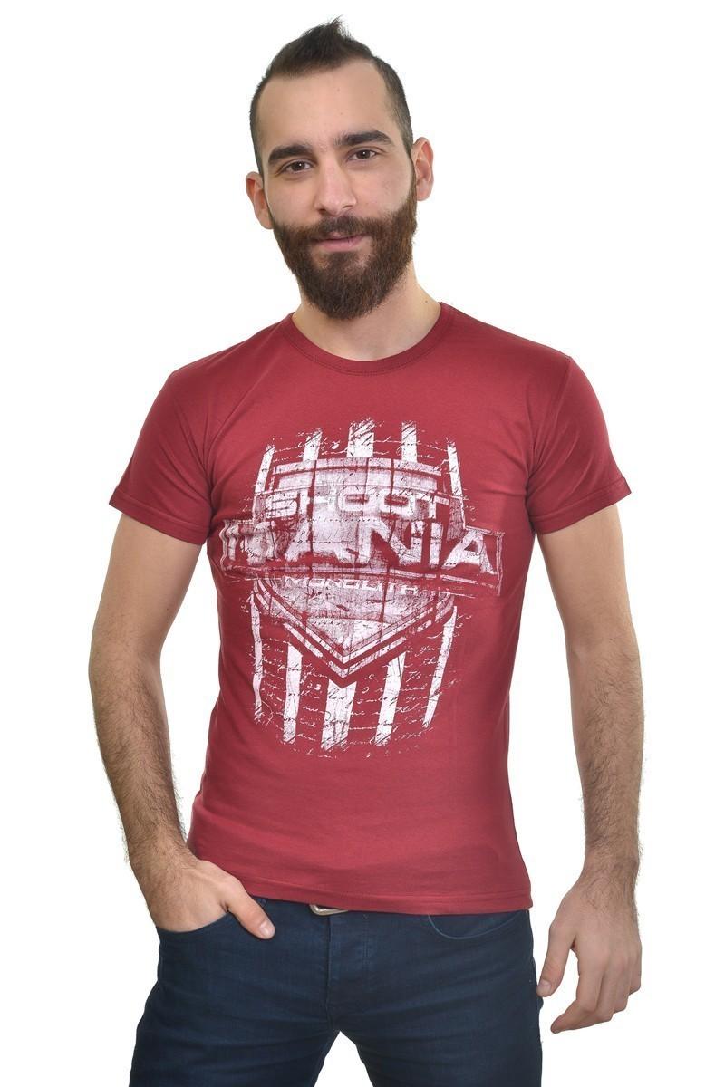 MTT Bordo MTT-220 Erkek Tişört