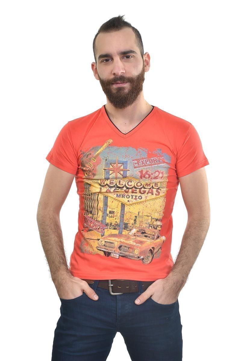 MTT Nar Çiçeği MTT-206 Erkek Tişört