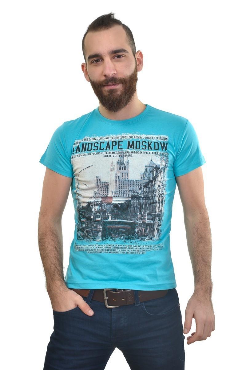 MTT Turkuaz MTT-194 Erkek Tişört