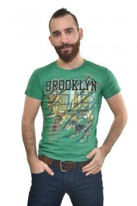 MTT Yeşil MTT-193 Erkek Tişört