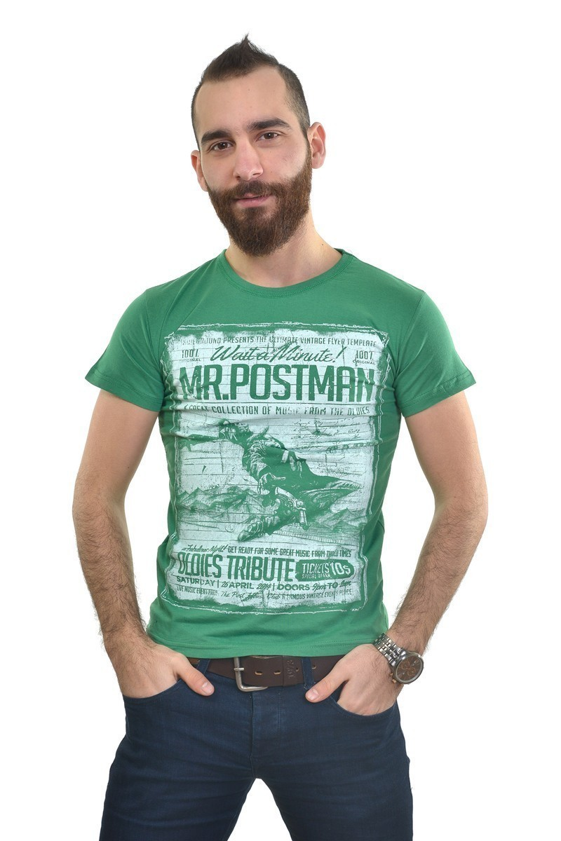 MTT Yeşil MTT-181 Erkek Tişört