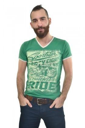 MTT Yeşil MTT-162 Erkek Tişört