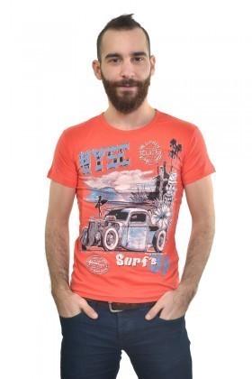 MTT Turuncu MTT-161 Erkek Tişört