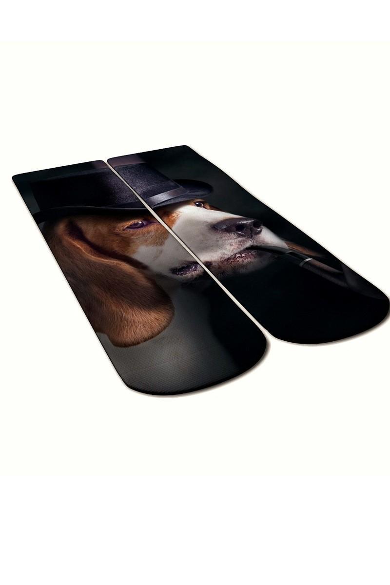 Baskido Karışık Renkli BSD-SO0101 Gentleman Soket Çorap