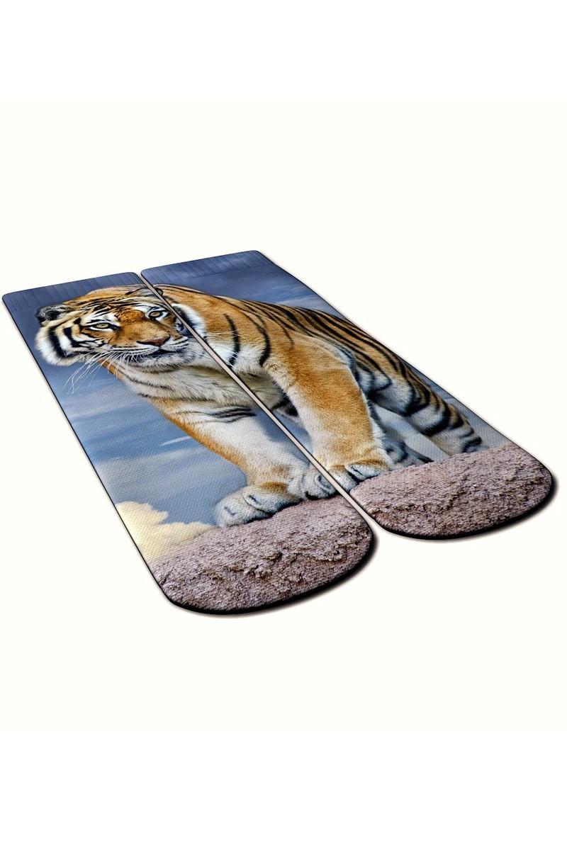 Baskido Karışık Renkli BSD-SO0119 Grand Soket Çorap