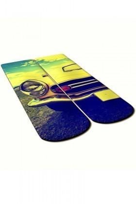 Baskido Karışık Renkli BSD-SO0102 Filtered Soket Çorap