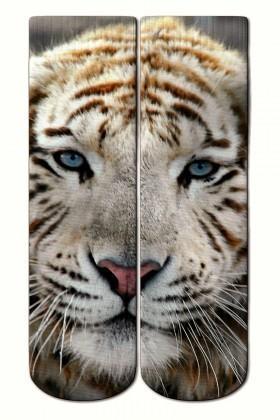 Baskido Karışık Renkli BSD-SO0113 Tiger Pup Soket Çorap