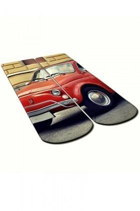 Baskido Kırmızı BSD-SO0118 Red Soket Çorap