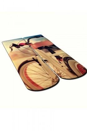 Baskido Karışık Renkli BSD-SO0112 Velo Soket Çorap