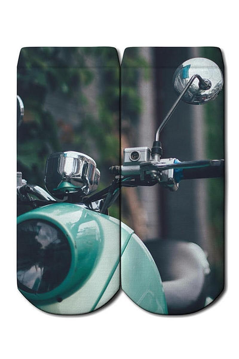 Baskido Karışık Renkli BSD-PT0138 Scoot Patik Çorap