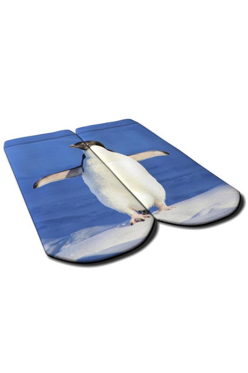 Baskido Karışık Renkli BSD-PT0137 Pingui Patik Çorap