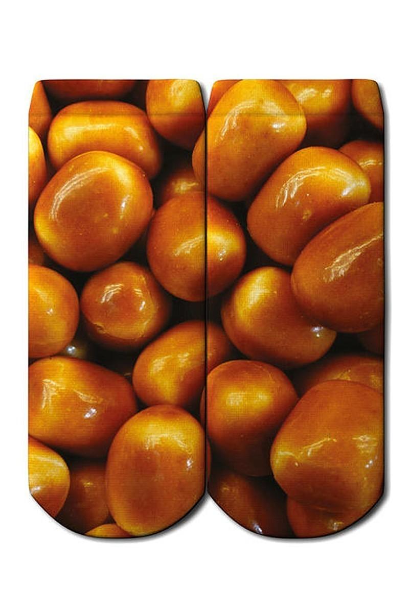 Baskido Karışık Renkli BSD-PT0134 Caramel Patik Çorap