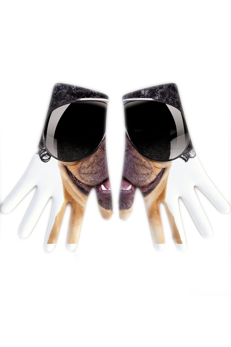 Baskido Beyaz BSD-EL0101 Afro Pug Eldiven