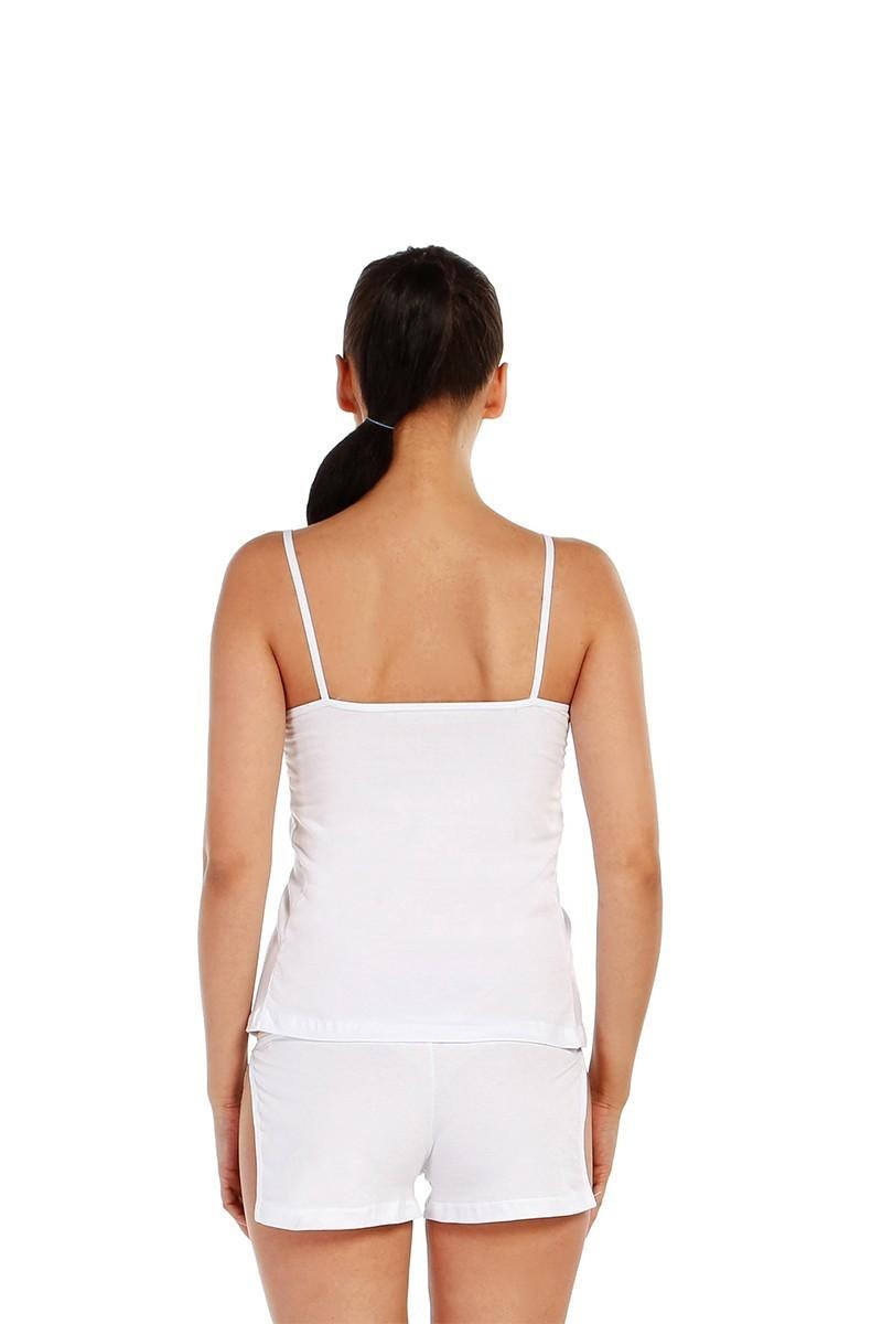 Dark Zone Beyaz DZ-1060B Bayan Atlet Takım