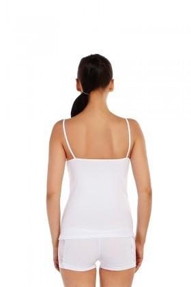 Dark Zone Beyaz DZ-1054B Bayan Atlet Takım