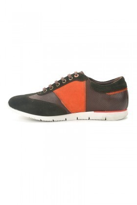 Pandew Yeşil-Kahverengi PNDW-8315 Hakiki Deri Erkek Ayakkabı