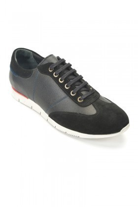 Pandew Siyah PNDW-8312 Hakiki Deri Erkek Ayakkabı