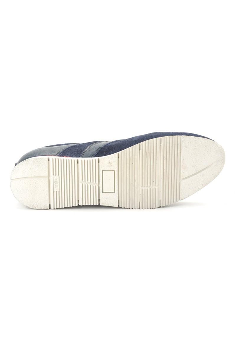 Pandew Lacivert PNDW-8290 Hakiki Deri Erkek Ayakkabı