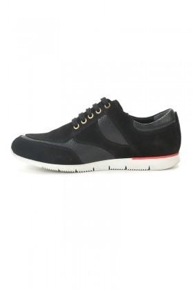 Pandew Siyah PNDW-8289-SUET Hakiki Deri Erkek Ayakkabı