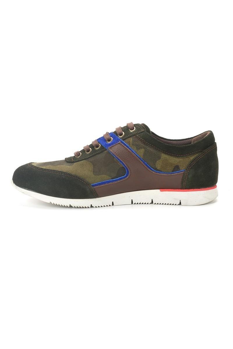 Pandew Koyu Yeşil PNDW-8282 Hakiki Deri Erkek Ayakkabı