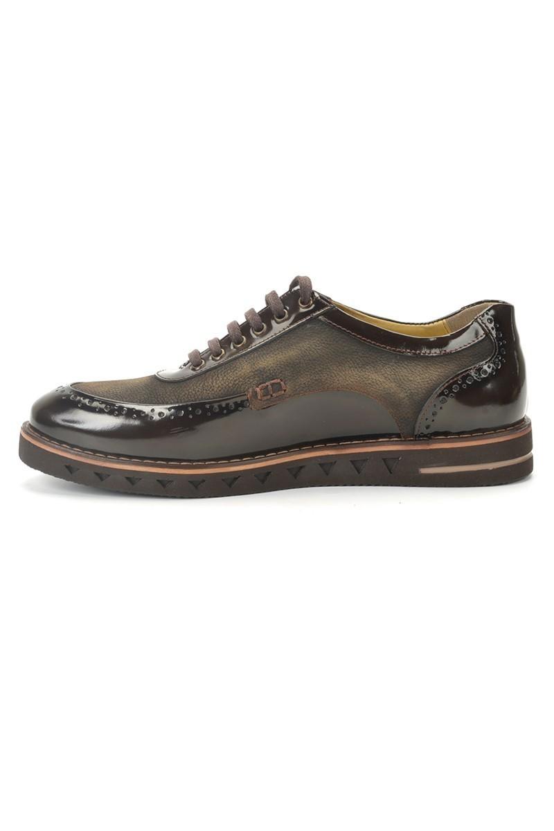 Pandew Kahverengi PNDW-75 Hakiki Deri Erkek Ayakkabı