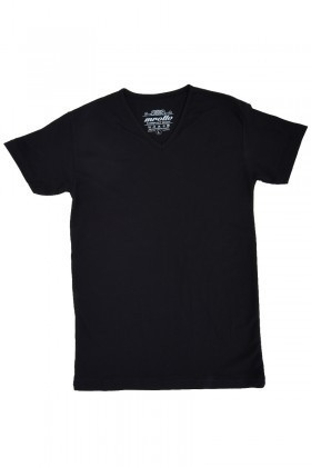 MTT Siyah MTT-407 Erkek Tişört
