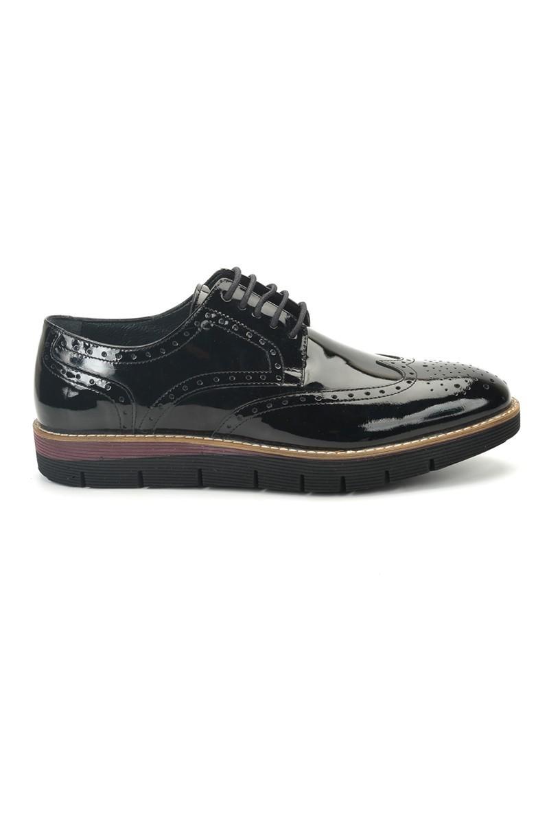 Three Star Siyah TS-2037-RGN Hakiki Deri Erkek Ayakkabı
