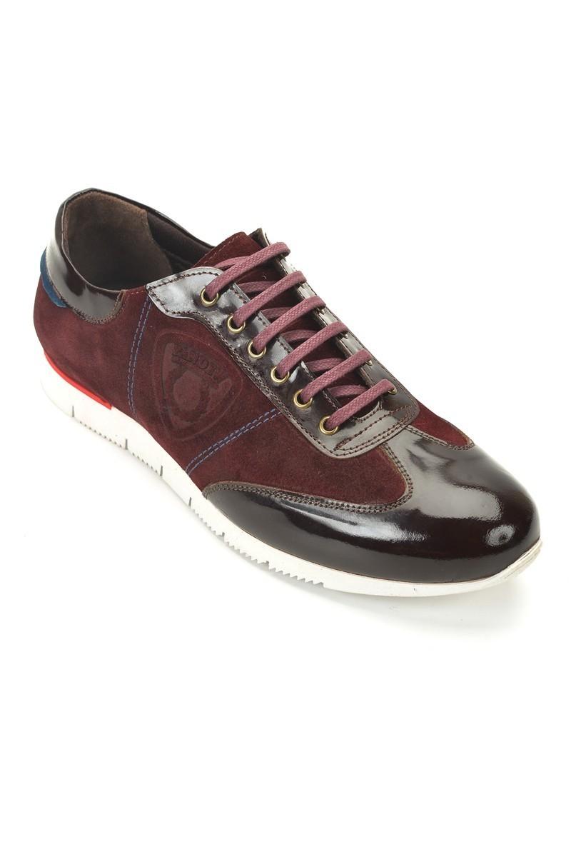 Pandew Bordo PNDW-8312 Hakiki Deri Erkek Ayakkabı