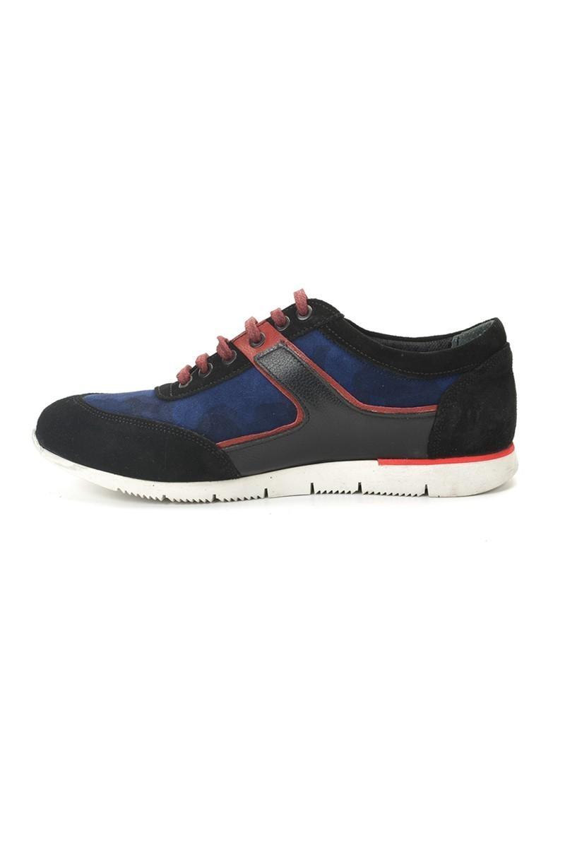 Pandew Siyah-Saks PNDW-8282 Hakiki Deri Erkek Ayakkabı