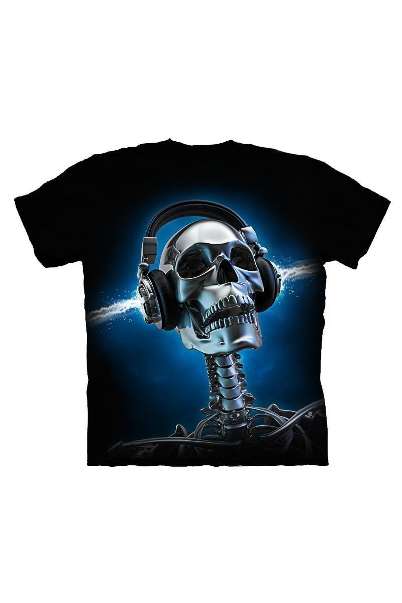 DAS Siyah DS-M1038 3D Erkek Tişört