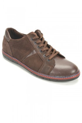 Ege Kahverengi EG-50005 Hakiki Deri Erkek Ayakkabı