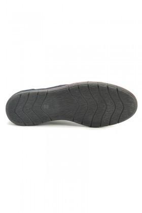 Ege Lacivert EG-50005 Hakiki Deri Erkek Ayakkabı