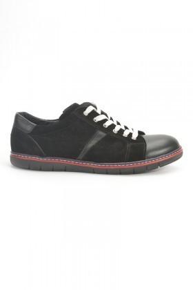 Ege Siyah EG-50005 Hakiki Deri Erkek Ayakkabı