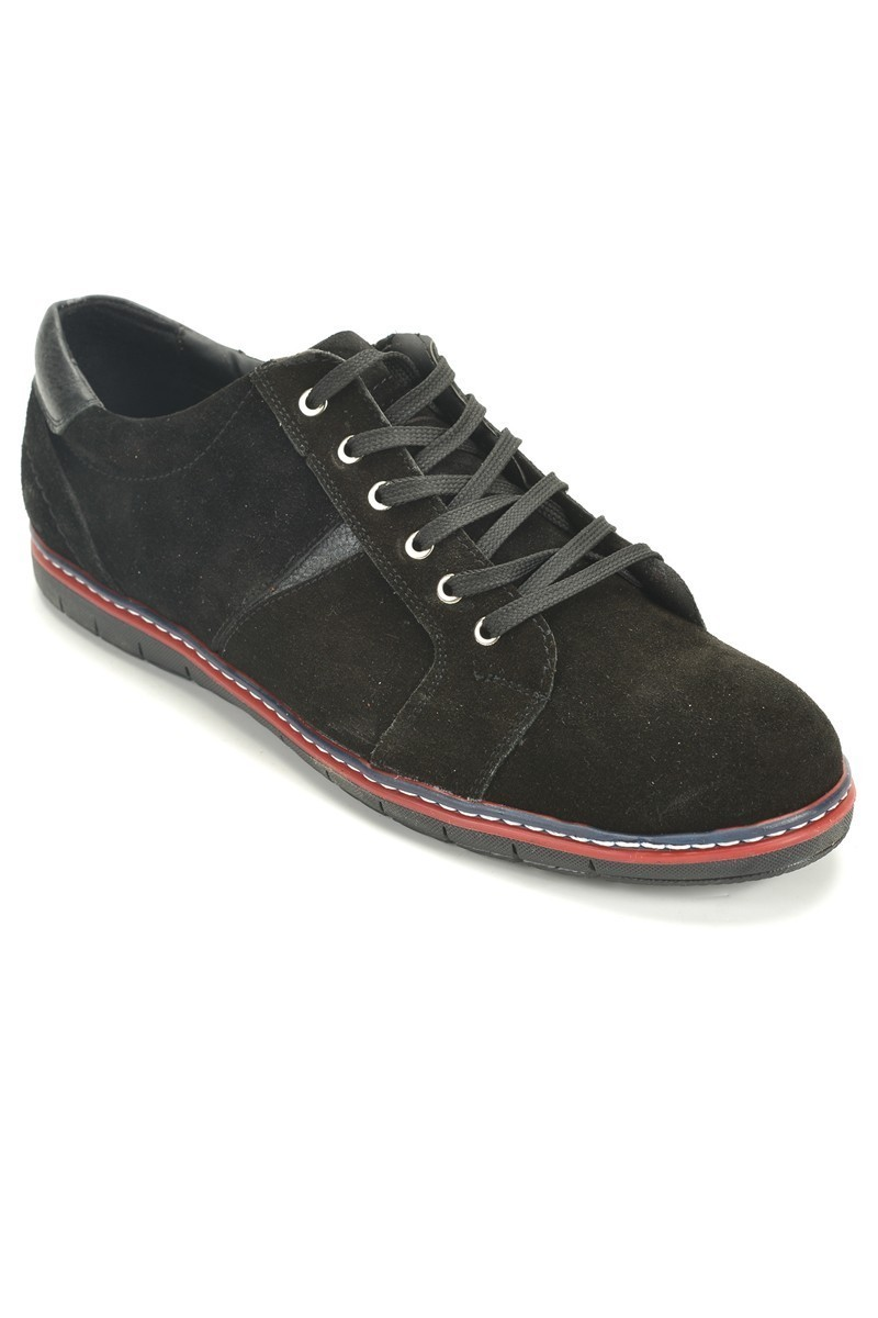 Ege Siyah EG-1907-SYH Hakiki Deri Erkek Ayakkabı